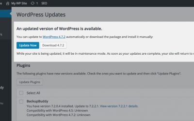 Update to WordPress 4.7.2 Immediately