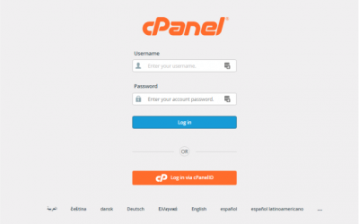 How to setup a new email account in cPanel