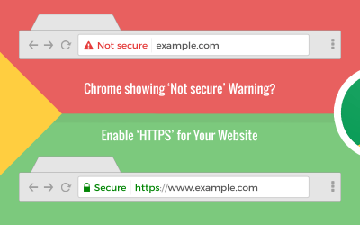 "Google Chrome ""Not Secure"" Website Warning – Are you Ready?"