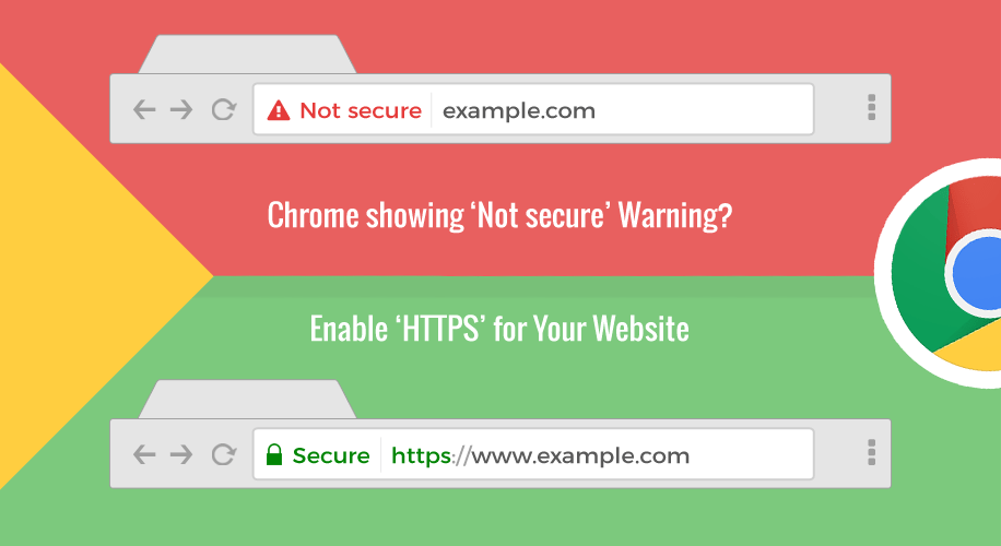 "Google Chrome ""Not Secure"" Website Warning – Are ..."